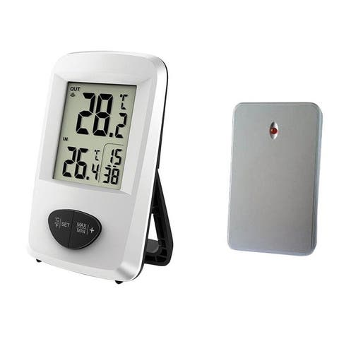 Taylor 1511 Wireless Digital Weather Station Thermometer, White