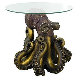 Steampunk Octopus Side Table