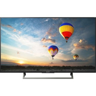 Sony XBR55X800E BRAVIA XBR Series LED TV - Smart TV - 4K UHD (2160p) - Edge-lit, Frame Dimming - Black