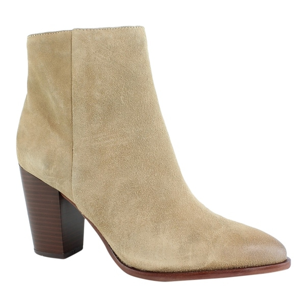 Size Oatmeal Ankle 5 Edelman Womens Boots Sam Blake 9 DHIE29WY