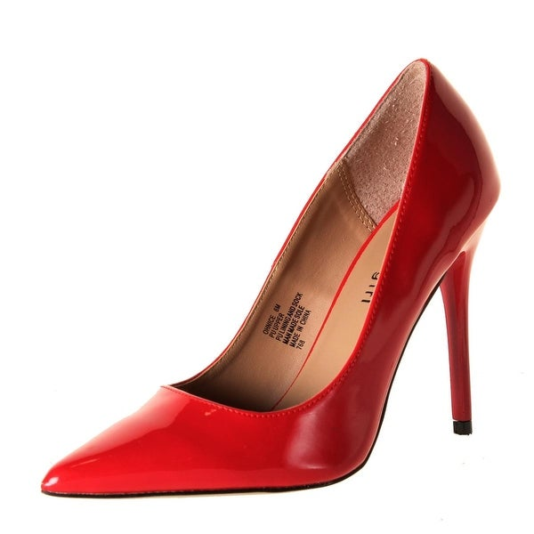 Madden Girl Womens Oh Nice Stilettos Patent Faux Leather