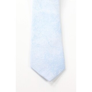 Original Penguin NEW Light Blue One Size Textured Skinny Neck Tie