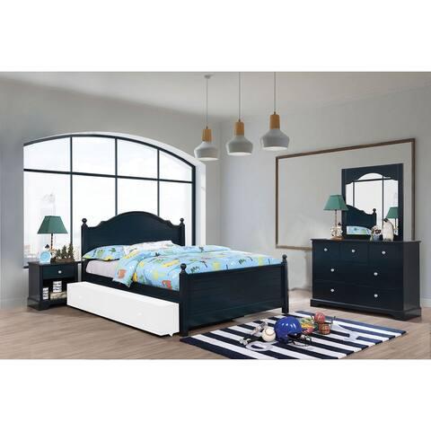 4 Piece Bedroom Set With One Nightstand
