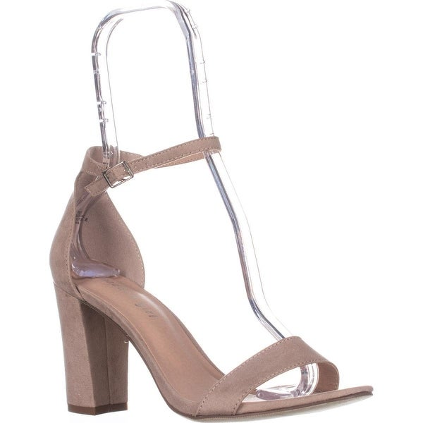 MG35 Blaire Ankle Strap Dress Sandals, Nude FA - 8 us