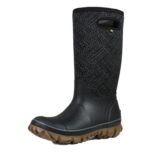 Bogs Outdoor Boots Womens Whiteout Fleck Pull On Waterproof