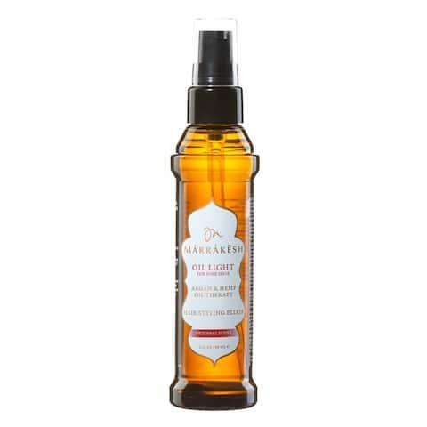 Marrakesh Hair Styling Elixir Light for Fine Hair 2-ounce Oil