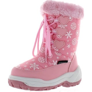 Nova Toddler Kb514 Girl's Winter Snow Boots - nf514 - fuchsia