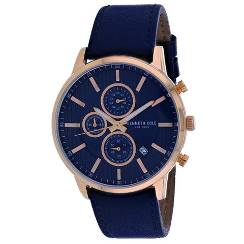 Kenneth Cole Men's Classic Blue Dial Watch - KC50944003 - One Size