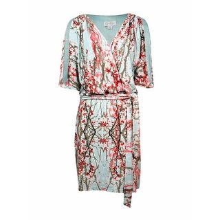 Jessica Simpson Woman's Printed Cold Shoulder Dress - l