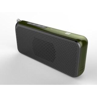 TechComm OV-C3 Bluetooth Speaker with Ultra-slim Design, Dual 3.5W Speaker, Hands-free Calling and NFC Fast Pairing