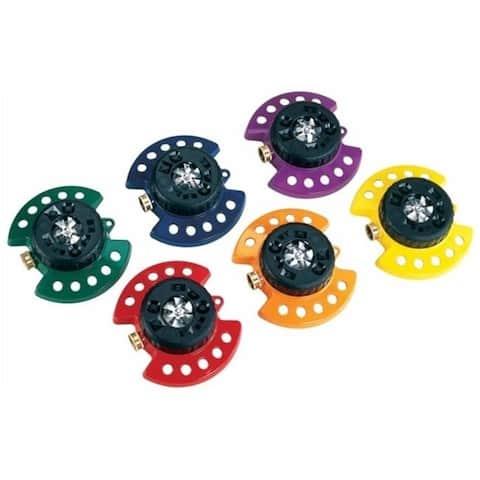 Dramm Corporation 6 Piece Display orted Colors Colorstorm Turret Sprinkler - Pack of 6