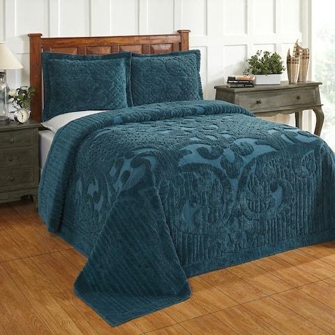 Better Trends Ashton Collection in Medallion Design 100% Cotton Tufted Unique Luxurious Machine Washable Tumble Dry