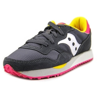 Saucony Dxn Trainer Round Toe Canvas Sneakers