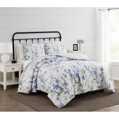 Cannon Kasumi Floral 3 Piece Comforter Set
