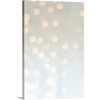"""Lights background"" Canvas Wall Art"