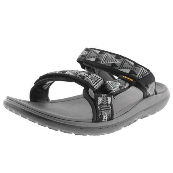 Teva Mens Slide Sandals Printed Flat