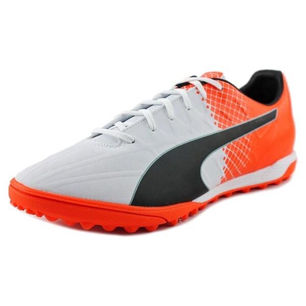 Puma Evo Speed 4.5 TT Men Puma White/Puma Black/Shocking Orange Running Shoes