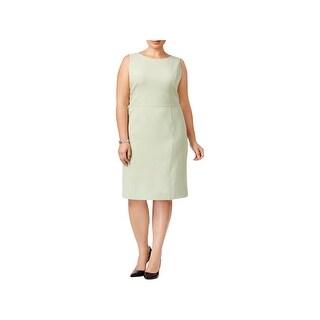 Kasper Womens Wear to Work Dress Sleeveless Sheath