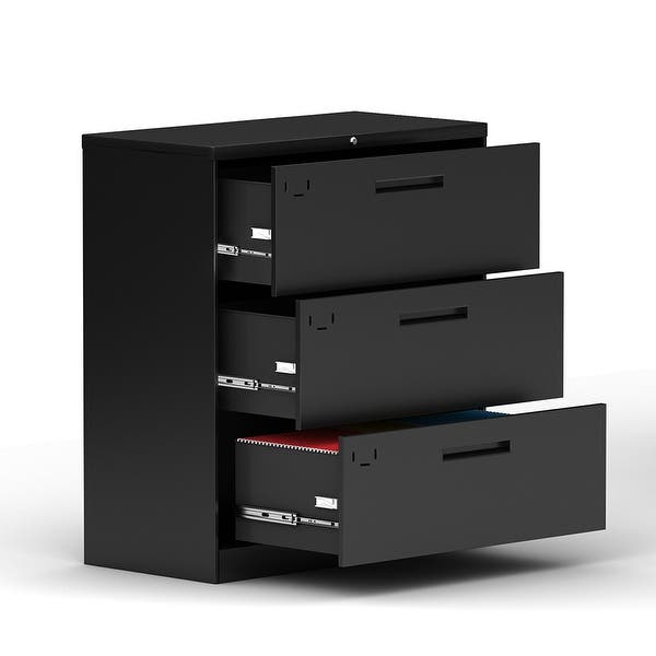 File cabinet Absfile Cabinets Desktop Storage Box Office Furniture Archive Cabinet Independent Drawers Large Capacity Abs 27.5X34X25.6CM Office Supplies