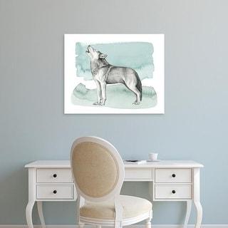 Easy Art Prints Grace Popp's 'Animale I' Premium Canvas Art