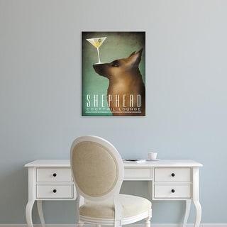Easy Art Prints Ryan Fowler's 'Shepherd Martini' Premium Canvas Art