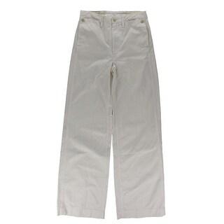 Denim & Supply Ralph Lauren Womens Sailor Pants Wide Leg Lace Up - 26