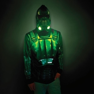 Unisex Adult Star Wars Rogue One Death Trooper Costume Hoodie With Led Lights
