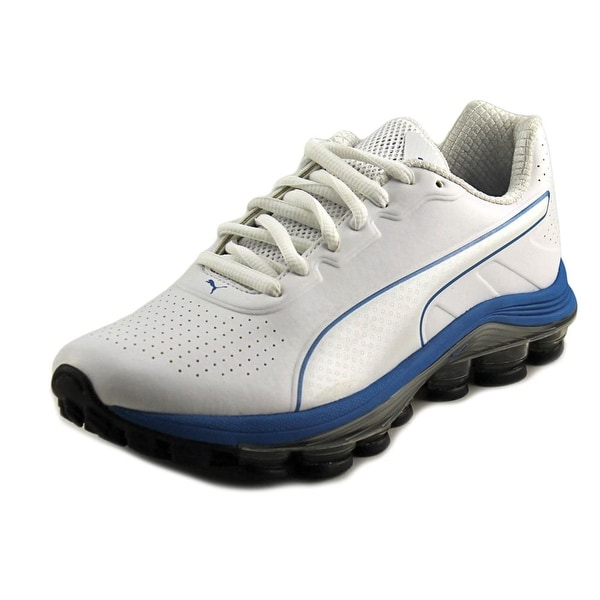 Puma Voltage 180 SL Men  Round Toe Synthetic White Sneakers