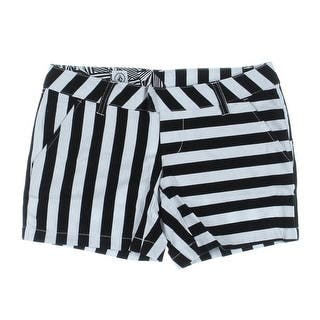 Volcom Womens Juniors Frochickie Casual Shorts Flat Front|https://ak1.ostkcdn.com/images/products/is/images/direct/44e906334bb0408e57e017f132c94b57094b1b96/Volcom-Womens-Juniors-Frochickie-Flat-Front-Casual-Shorts.jpg?impolicy=medium