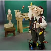 """10.5"""" Zims The Elves Themselves Albert Collectible Christmas Elf Figure - multi"""