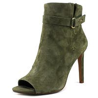 BCBGeneration Womens Cassia Suede Open Toe Ankle Fashion Boots