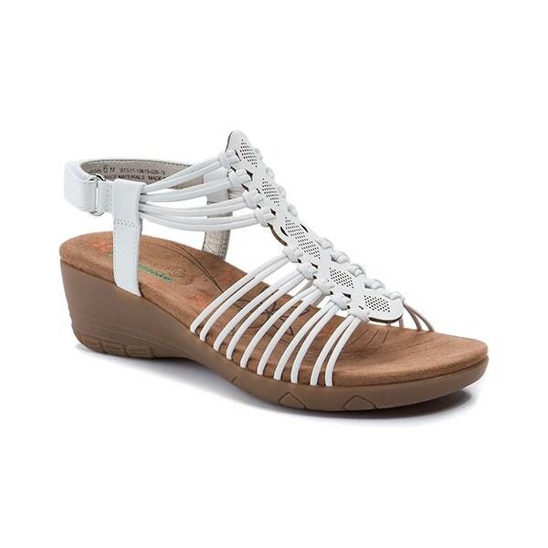 Baretraps Haydin Women's Sandals & Flip Flops White