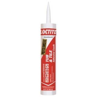 Loctite 2154752 Polyseamseal Tub & Tile Adhesive Caulk, Almond, 10 Oz