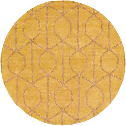 Hand-tufted Taunton Wool Rug - 8' Round