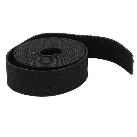 Clothing Hairband DIY Craft Black Elastic Band Sewing Tailor Tool 3.3ft 1Meter
