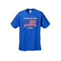Men's T-Shirt USA Flag Pride American Dad Stars & Stripes Patriotic Father Papa Tee - Thumbnail 4
