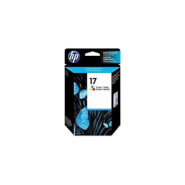 HP 17 Tri-color Original Ink Cartridge (C6625A) (Single Pack)