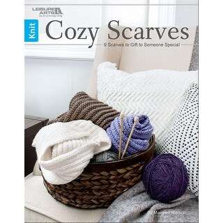 Leisure Arts-Cozy Scarves