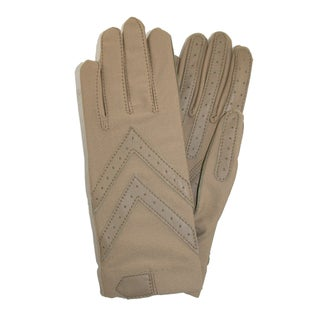 Isotoner Women's Unlined Leather Palm Driving Gloves (4 options available)