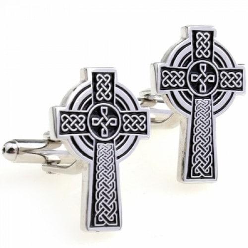 Celtic Cross Celtic Knot Cufflinks