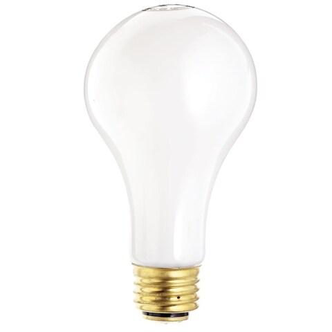 Satco S1821 3 Way Medium Base Light Bulb, 120 Volts, 50/100/150 Watts
