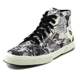 Superga 2095 Annabella Women Round Toe Canvas Black Sneakers