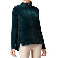 Marled Women's Large Chenille Turtleneck Sweater