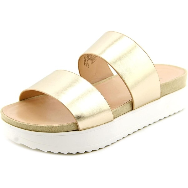 Wanted Mello Gold Sandals