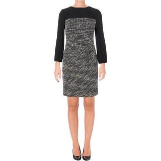 Lauren Ralph Lauren Womens Wear to Work Dress Jersey Long Sleeves