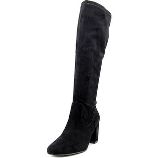 Diba Brodie Women Round Toe Synthetic Black Knee High Boot