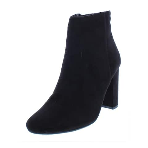 Material Girl Womens Cambrie Booties Faux Suede Ankle