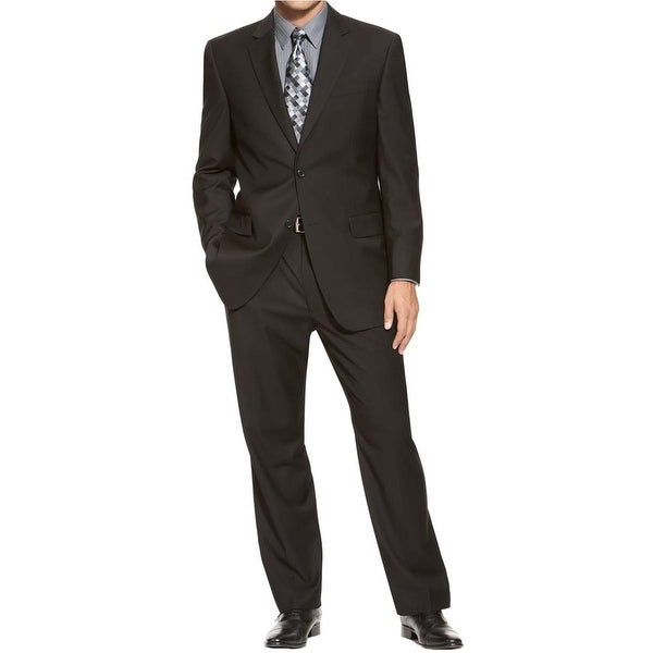 Izod Mens Two-Button Suit Regular Fit 2PC