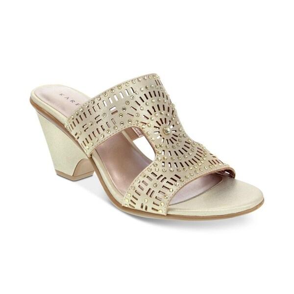 Karen Scott Womens Kendra Open Toe Casual Slide Sandals. Opens flyout.
