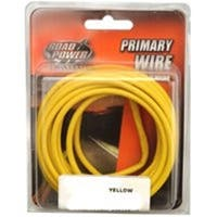 Coleman Cable 10-1-2014 7 Ft. Automotive Primary Wire, Yellow